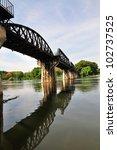 Steel Bridge Of Kwae River