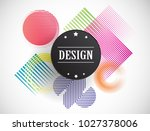 seamless pattern with speed... | Shutterstock .eps vector #1027378006
