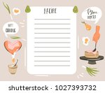hand drawn vector abstract... | Shutterstock .eps vector #1027393732