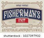 """old style typeface """"fisherman's ... 