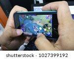 kuala lumpur   october 17  ... | Shutterstock . vector #1027399192
