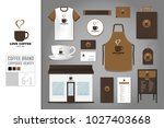 corporate identity template set ... | Shutterstock .eps vector #1027403668