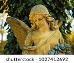 The Figure Of An Angel In    ...
