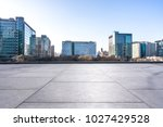 empty marble with modern office ... | Shutterstock . vector #1027429528