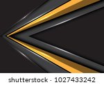 abstract gold arrow speed... | Shutterstock .eps vector #1027433242