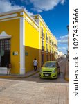 campeche  mexico   january 31... | Shutterstock . vector #1027435666