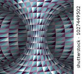 faceted polygonal patterned... | Shutterstock .eps vector #1027449502