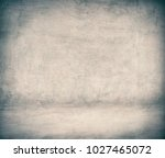 room interior with grey stucco... | Shutterstock . vector #1027465072