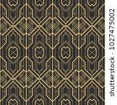 vector modern tiles pattern.... | Shutterstock .eps vector #1027475002