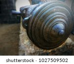 old cannon in the fort | Shutterstock . vector #1027509502