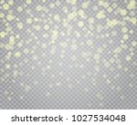 light abstract glowing bokeh... | Shutterstock .eps vector #1027534048