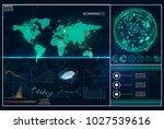 hud. radar screen. futuristic...