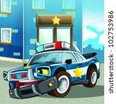 police car 1 - stock photo