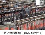 atuntaqui  ecuador   april 17 ... | Shutterstock . vector #1027539946