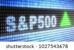 the standard   poor's 500 is an ... | Shutterstock . vector #1027543678