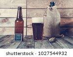 craft beer   stout | Shutterstock . vector #1027544932