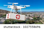 unmanned aircraft system  uas ... | Shutterstock . vector #1027558696
