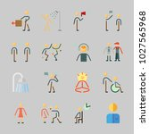 icons about human with... | Shutterstock .eps vector #1027565968