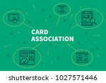 business illustration showing...   Shutterstock . vector #1027571446