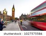 london  uk   july 17 2016   big ... | Shutterstock . vector #1027575586
