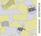 vector seamless pattern.... | Shutterstock .eps vector #1027604116