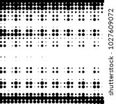 abstract grunge grid polka dot... | Shutterstock . vector #1027609072