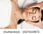 face massage. people  beauty ...   Shutterstock . vector #1027610872