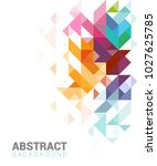 abstract design for web or... | Shutterstock .eps vector #1027625785