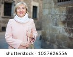 portrait of mature female in... | Shutterstock . vector #1027626556