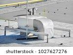 industrial steel air... | Shutterstock . vector #1027627276