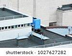 industrial steel air... | Shutterstock . vector #1027627282