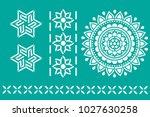 Indian Ornament Stencil
