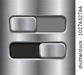 on and off slider buttons.... | Shutterstock .eps vector #1027632766
