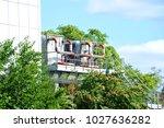 industrial steel air... | Shutterstock . vector #1027636282