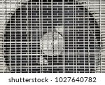 grid of air conditioning and... | Shutterstock . vector #1027640782
