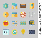 icons about business with... | Shutterstock .eps vector #1027641772