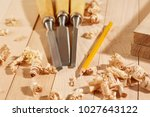 diy concept. woodworking and...   Shutterstock . vector #1027643122