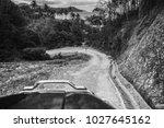 beautiful tropical canyon...   Shutterstock . vector #1027645162
