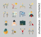 icons about human with music... | Shutterstock .eps vector #1027646062