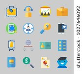 icons about business with... | Shutterstock .eps vector #1027646092