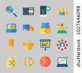 icons about business with... | Shutterstock .eps vector #1027646098