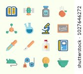 icons about science with mortar ...   Shutterstock .eps vector #1027646272