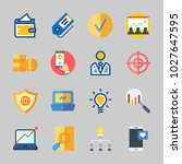icons about business with... | Shutterstock .eps vector #1027647595