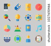 icons about business with... | Shutterstock .eps vector #1027650466