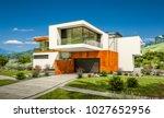 3d rendering of modern cozy... | Shutterstock . vector #1027652956