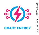 smart energy concept. vector... | Shutterstock .eps vector #1027661662