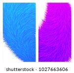 organic fur colorful covers...