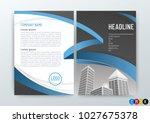 abstract modern flyers brochure ...   Shutterstock .eps vector #1027675378
