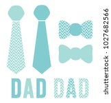 father's day dad titles and... | Shutterstock .eps vector #1027682566