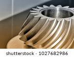 industrial conical gear ... | Shutterstock . vector #1027682986